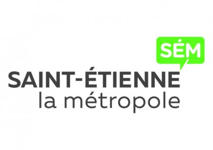 Logo et accès au site de Saint-Etienne Métropole