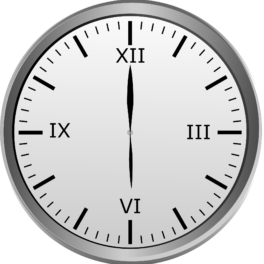 illustration d'une horloge
