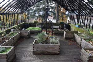 Photo du jardin pédagogique