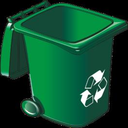 illustration d'une poubelle