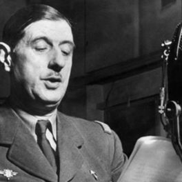Photo de Charles de gaulle Appel du 18 juin 1940