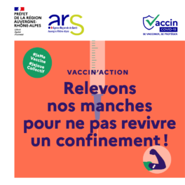 Affiche pour la vaccination Covid 19