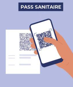 illustration du pass sanitaire