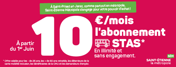 Bannière Abonnement transport en commun
