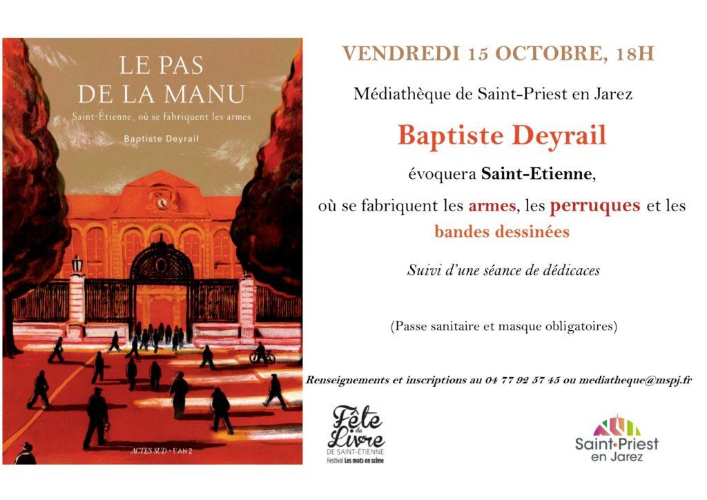 Affiche venue Baptiste Deyrail