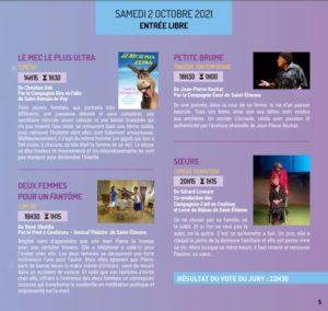 Programme suite du Festival Théâtre amateur