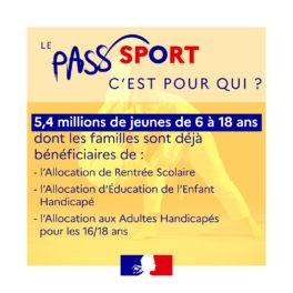 Visuel dispositif Pass'Sport